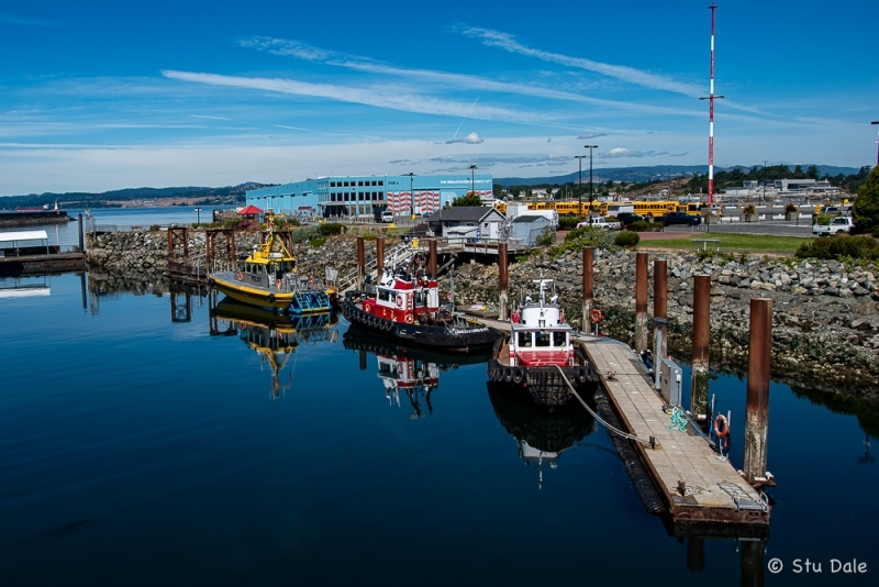Pilot and Tug Boat Wharf at Ogden Point